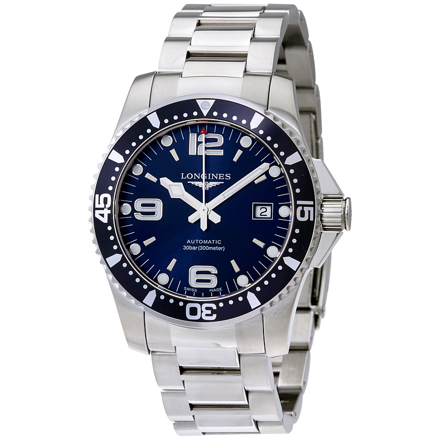 HydroConquest Automatic Blue Dial Men's Watch