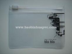 Túi nhựa PVC mini có dây kéo 03