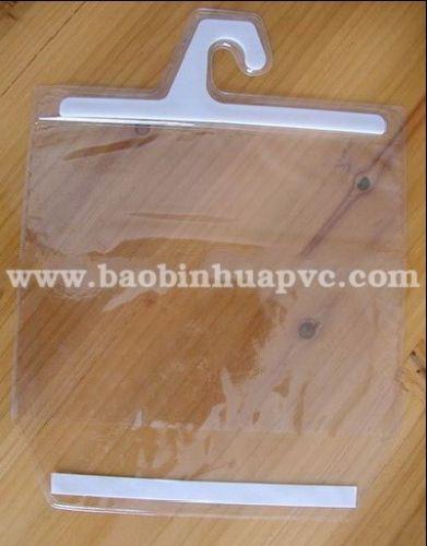 Túi nhựa PVC có móc 21