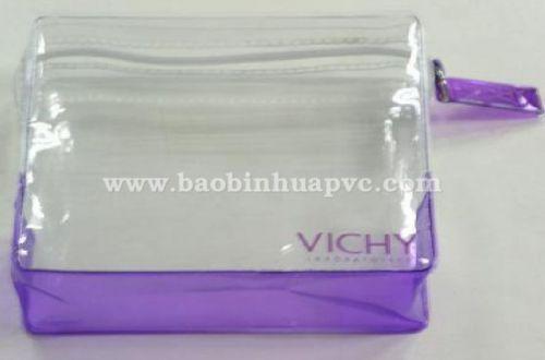 Túi nhựa PVC đựng mỹ phẩm 21