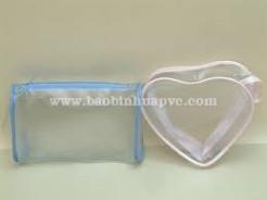 Túi nhựa PVC đựng mỹ phẩm 45