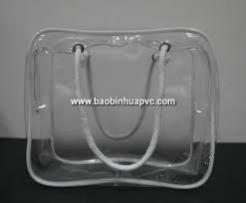 Túi nhựa PVC có quai xách 06