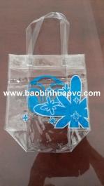 Túi nhựa PVC có quai xách 12