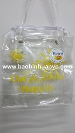 Túi nhựa PVC có quai xách 01