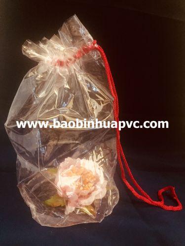 Túi nhựa PVC có dây rút 01