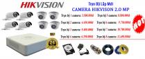 Thi Công Lắp Đặt Trọn Gói Camera Hikvision