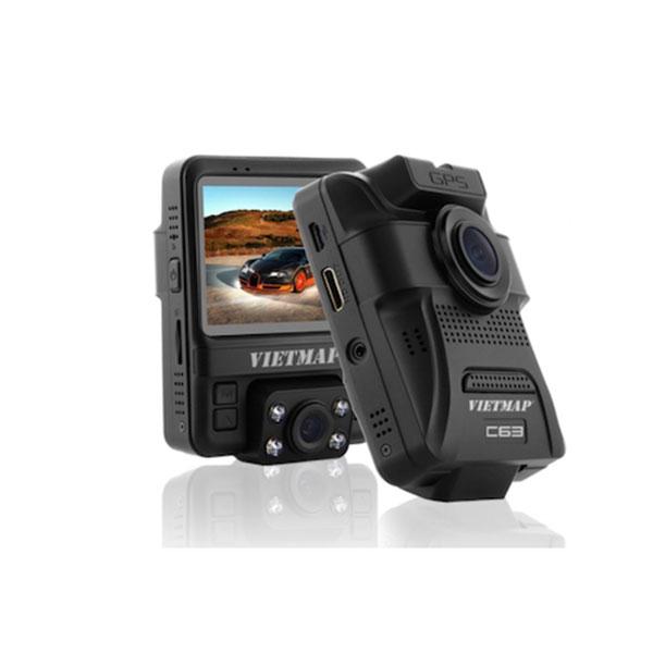 Camera hành trình VIETMAP C63 - Ghi hình phía trước, kết nối Wifi