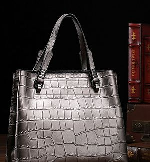 Tan Structured Shopper Bag