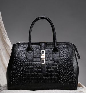 Camel Plaited Seam Shopper Bag
