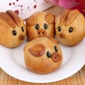 Bánh nướng hình con heo