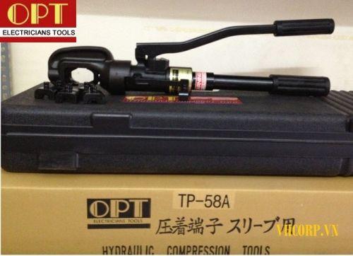 Kìm ép cos thủy lực OPT TP-58A