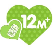 icon 12m+