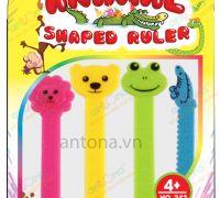 """Bộ sưu tập """"Thước kẻ con vật – Animal shaped ruler"""""""