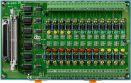 Card PCI 24 kênh Opto cách ly đầu vào + DIN-Rail Mounting