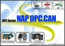 Phần mềm tiện ích NAPOPC. CAN DA Server