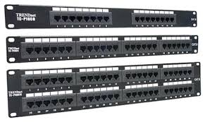 AMP Patch Panel 24 Port CAT5