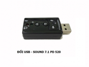 Đổi USB - Sound 7.1 PD 520