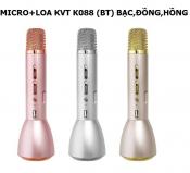Micro + Loa KVT K088 (BT) BẠC