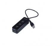 Bộ chia USB HUB 3 cổng USB 2.0 tích hợp đầu đọc thẻ nhớ TF SD Orico W5PH4-U2