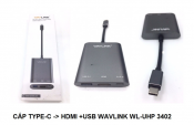 Cáp Type C to HDMI + USB WAVLINK WL-UHP 3402