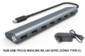 Hub USB 7port (3.0) Wavlink WL-UH 3075C (Cổng Type C)
