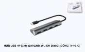 Hub USB 4port (3.0) Wavlink WL-UH 3048C (Cổng Type C)