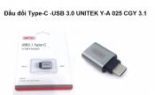 Đầu đổi Type-C USB 3.0 Unitek Y-A025CGY 3.1