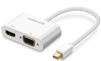 Cáp mini Displayport ra VGA và HDMI chính hãng Ugreen 40364