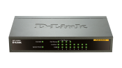 DES-1008PA 8-Port Fast Ethernet PoE Desktop Switch