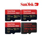 Thẻ nhớ SanDisk Micro SDXC Extreme Pro 64GB 100Mb/s