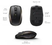 Chuột không dây Bluetooth, Wireless Logitech MX Anywhere II