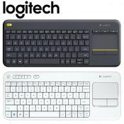Bàn phím cảm ứng không dây Logitech K400 Plus