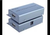 Bộ nối dài USB 2.0 ra LAN 50M DTECH (DT-7014A)
