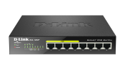 DGS-1008P 8-Port Gigabit PoE Unmanaged Desktop Switch