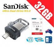 USB OTG SanDisk Ultra 32GB Dual Drive m3.0