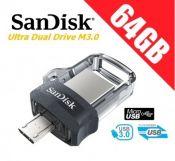 USB OTG 3.0 SanDisk Ultra Dual Drive M3.0 64GB