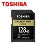 SDHC  PRO R270/W260MB U3 4K -N502 128GB