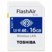TOSHIBA SDHC FLASH AIR WIFI  16GB