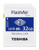TOSHIBA SDHC FLASH AIR WIFI  32GB