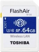 TOSHIBA SDHC FLASH AIR WIFI  64GB