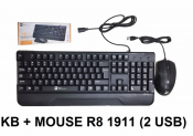 KB + MOUSE R8 1911 (2USB)