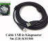 Cáp USB in Kingmaster 5m (2.0) KM044