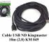Cáp USB nối dài Kingmaster 10m (2.0) KM049
