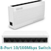 Switch Chia Cổng Mạng Tenda 8 Port S108