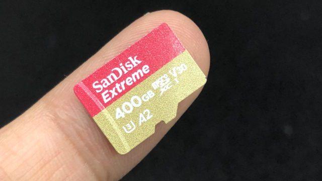 Thẻ nhớ MicroSD 400Gb Sandisk TF Extrem 160mb A2