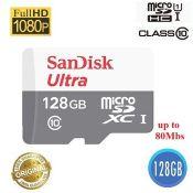 Thẻ nhớ MicroSD 128g SANDISK TF ULTRA II 80MB