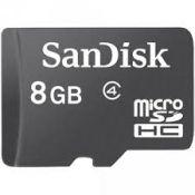 Thẻ nhớ SANDISK 8G TF class 4 box