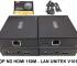 Hộp ND HDMI 150m - Lan Unitek V101A