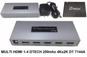 Multi HDMI 1-4 Dtech 250mhz 4Kx2K DT 7144A