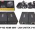 Hộp ND HDMI 60m - Lan Unitek V100A